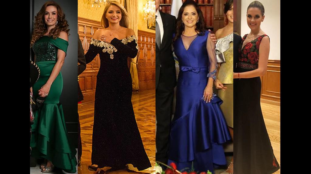 Guerra de vestidos en El Grito de Independencia 2017