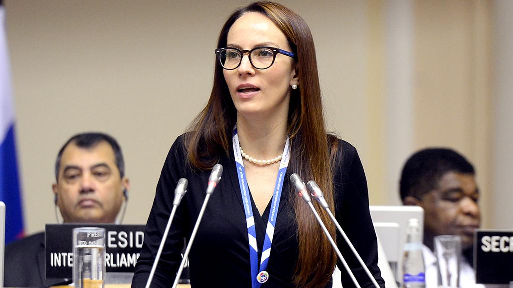 Gabriela Cuevas es elegida como presidenta de la Unión Interparlamentaria