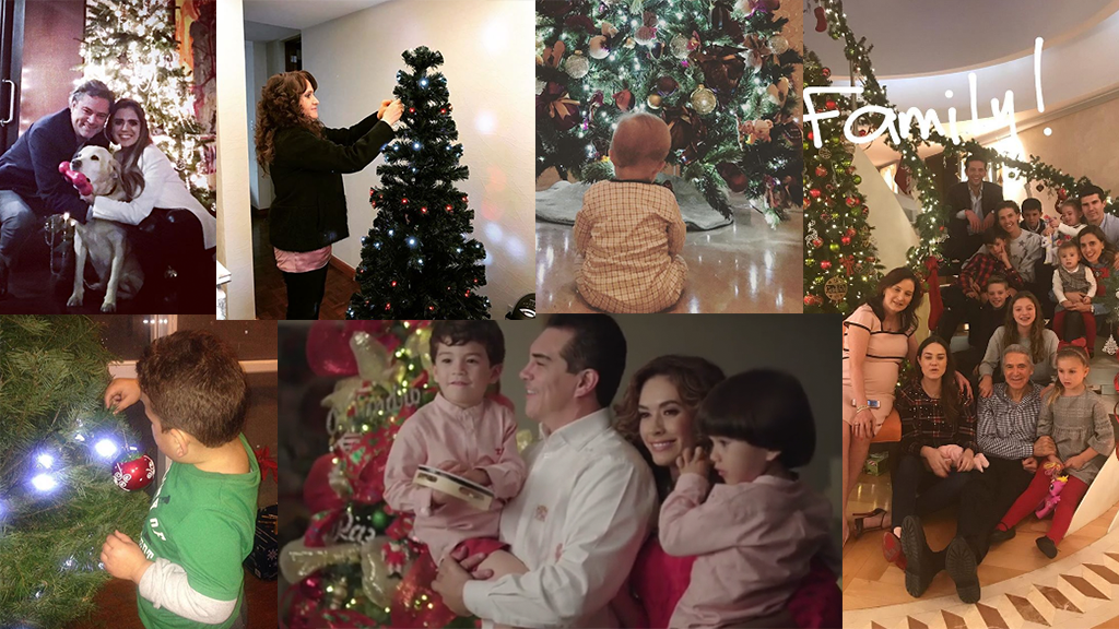 Los árboles de navidad de los políticos 2017