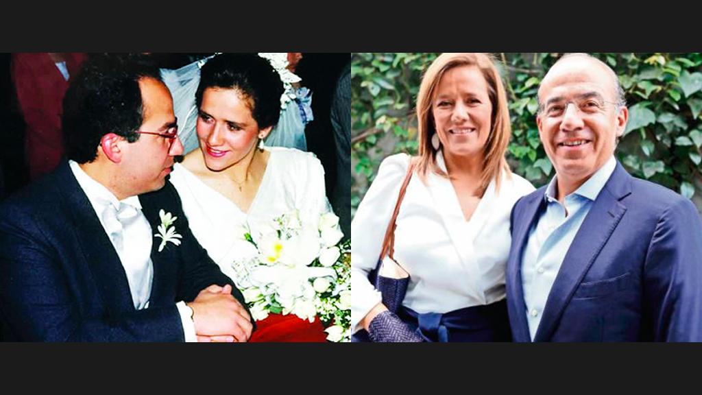 Margarita Zavala y Felipe Calderón celebran bodas de plata