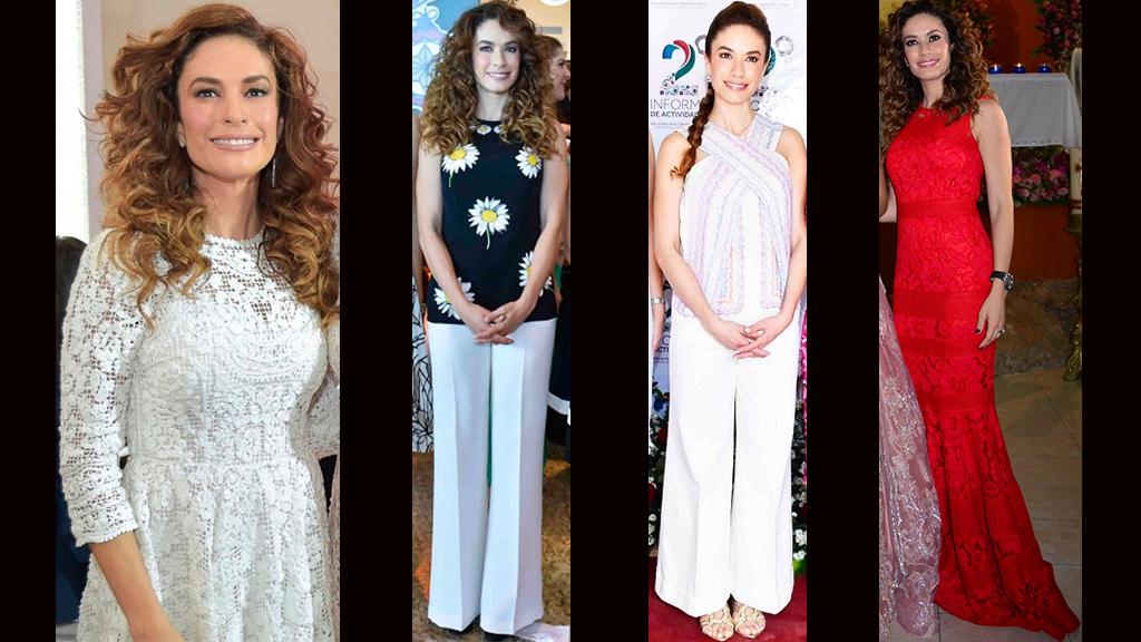 Los Outfits de Christelle Castañón, esposa de Alejandro Moreno