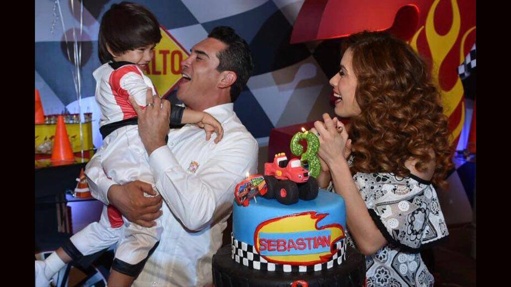 El cumpleaños del hijo del gobernador de Campeche