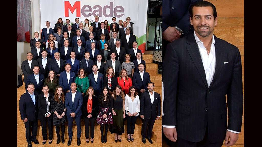 El sexy integrante de la campaña de Meade
