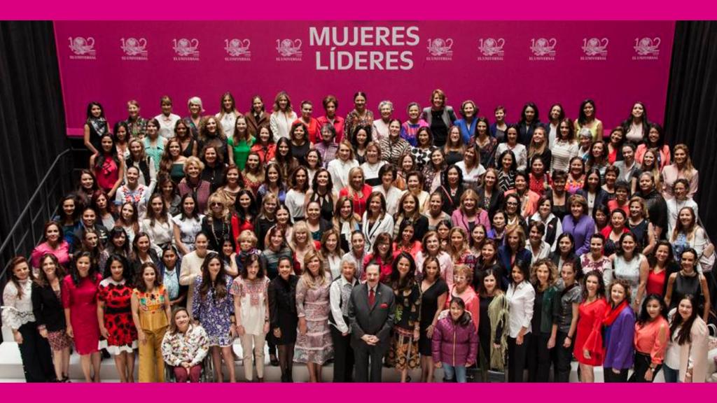 Las políticas que forman parte de las 102 mujeres líderes
