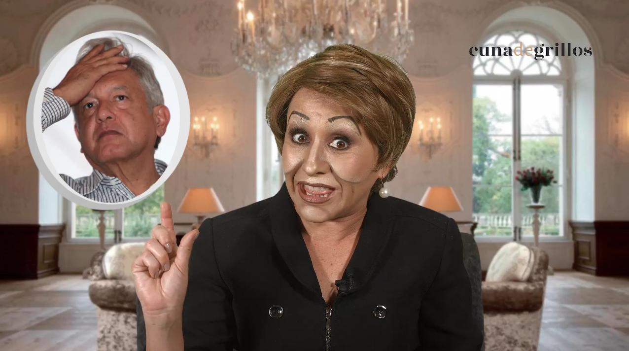 Marta le pide chamba a López Obrador
