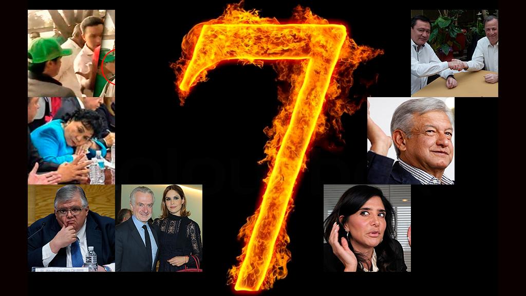 Los siete pecados capitales de los políticos