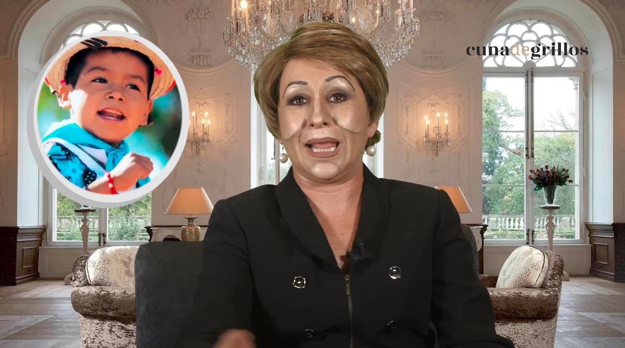 """Marta canta """"Ya llegó, ya llegó… ya llegó Anaya el lavador"""""""