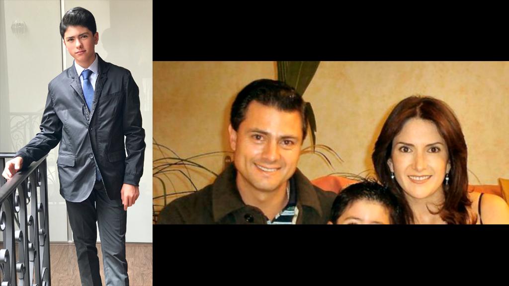El hijo de Enrique Peña Nieto y Maritza Díaz cada vez más guapo