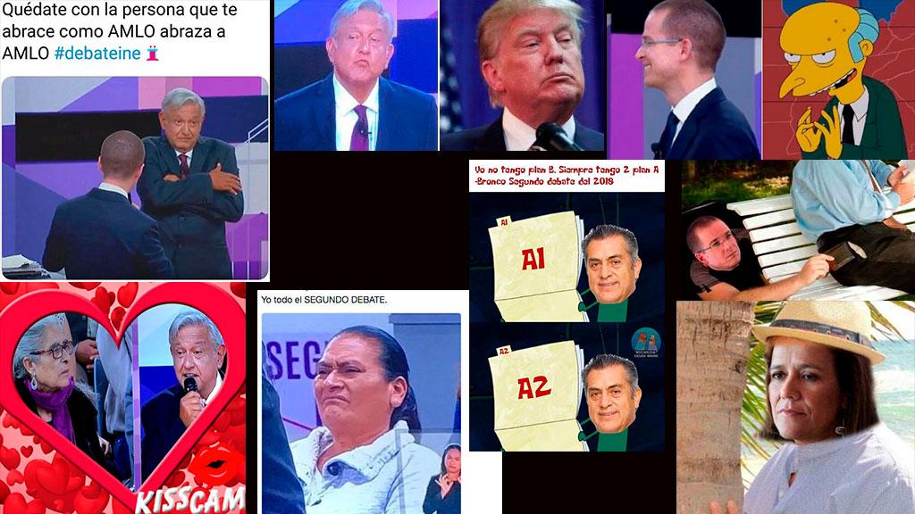 Los 20 mejores memes del Segundo Debate Presidencial 2018