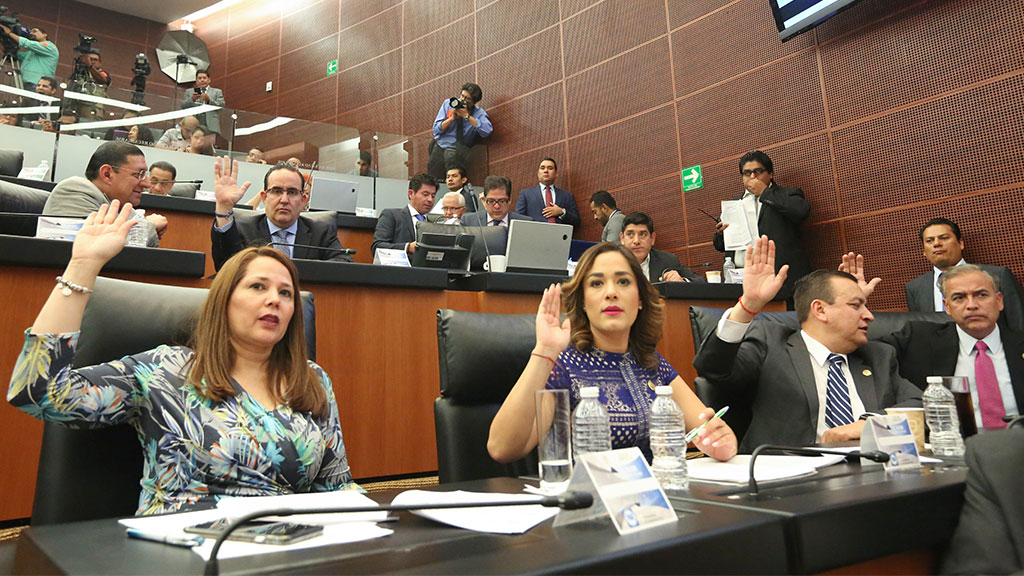 Senado reconoce labor de la Armada de México frente al crimen