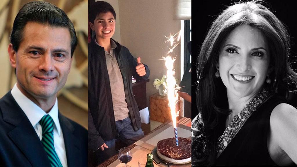 Los 14 años del hijo de Enrique Peña Nieto y Maritza Díaz