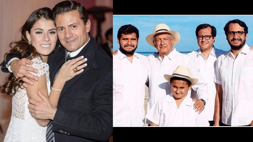 Paulina Peña manda mensaje a los hijos López Obrador
