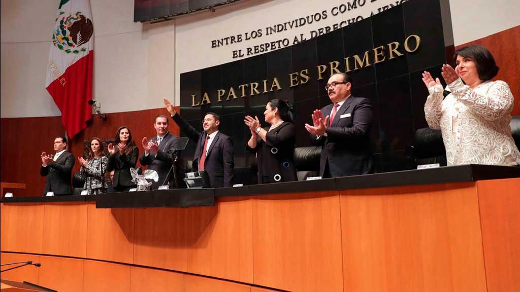 Eligen a Martí Batres como presidente de la Mesa Directiva del Senado