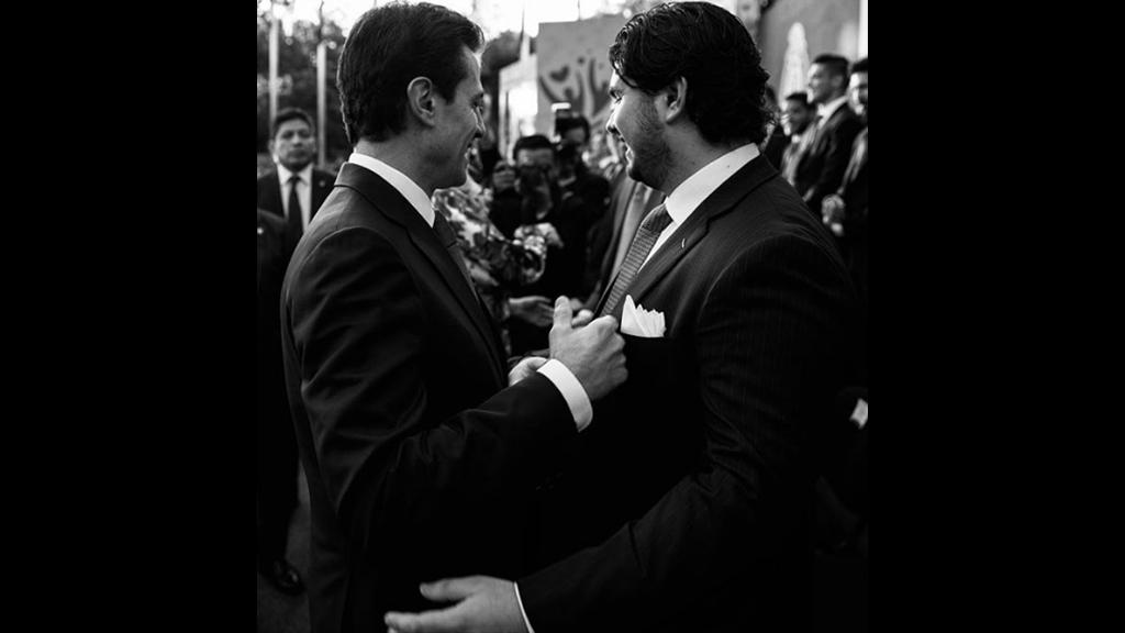 Las emotivas palabras de Alejandro a Enrique Peña Nieto