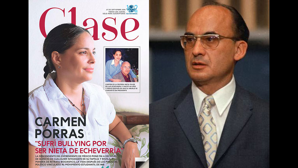 ¿Dónde y con quién estuvo Luis Echeverría el 2 de octubre del 68?