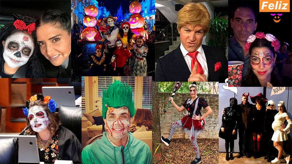 Los políticos se disfrazaron para Halloween 2018