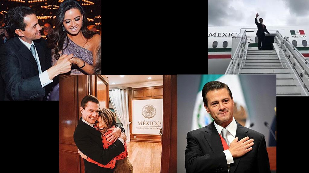Así se despidieron los hijos de Enrique Peña Nieto de la Presidencia