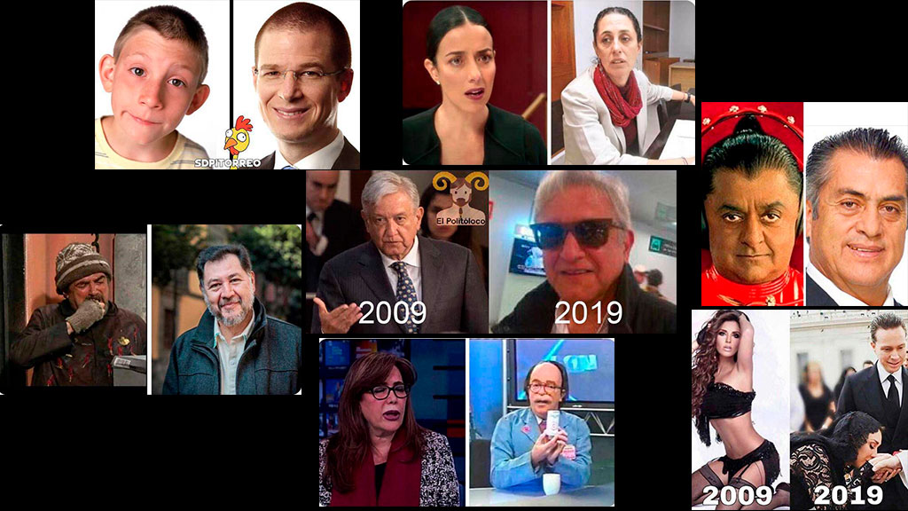 Las parodias de los políticos por el #10YearChallenge
