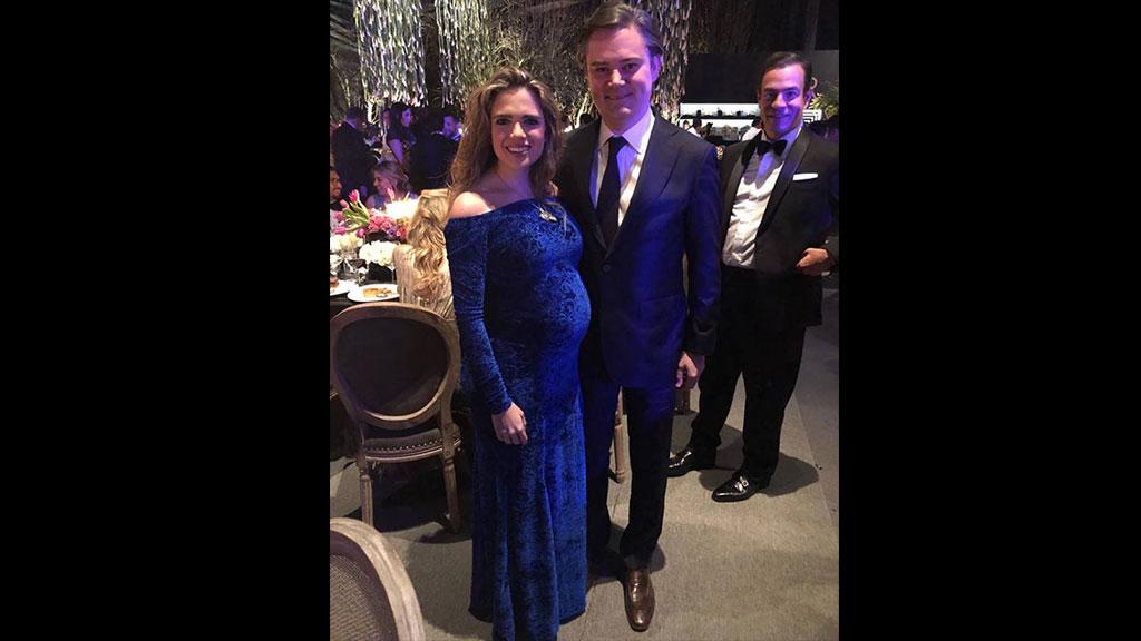 Nace el bebé de Aurelio Nuño y María Aliaga