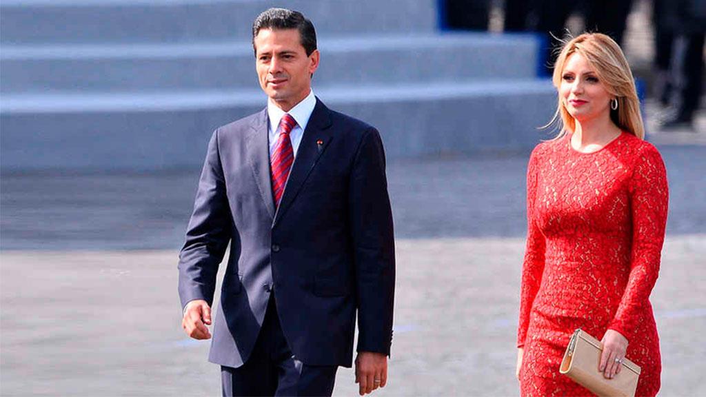 Angélica Rivera anuncia divorcio con Enrique Peña Nieto