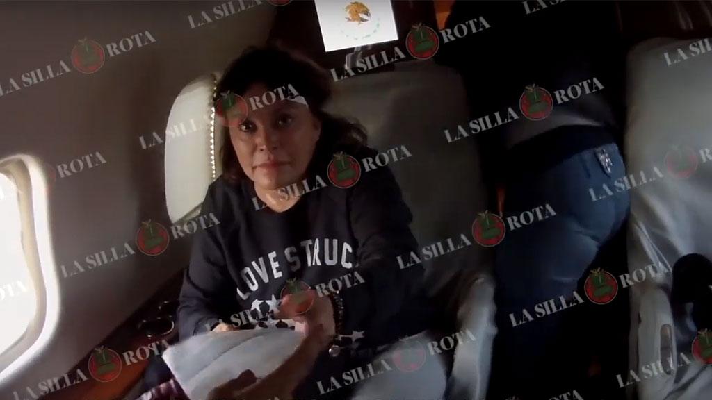 Se revela el video de la detención de Elba Esther Gordillo