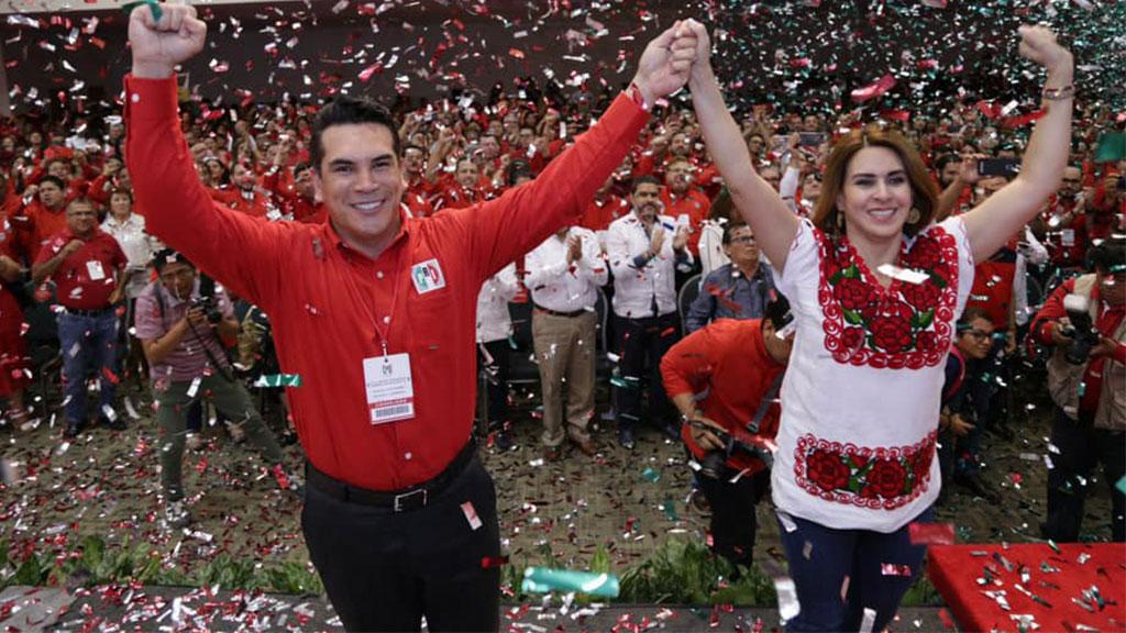 Alejandro Moreno se destapa por la presidencia del PRI