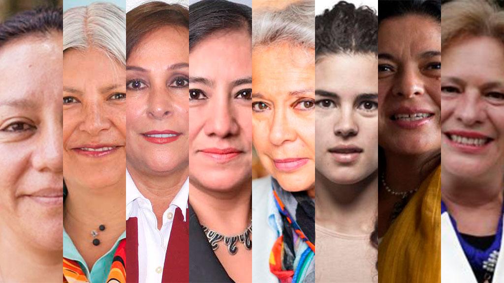 Las mujeres del gabinete de Andrés Manuel López Obrador