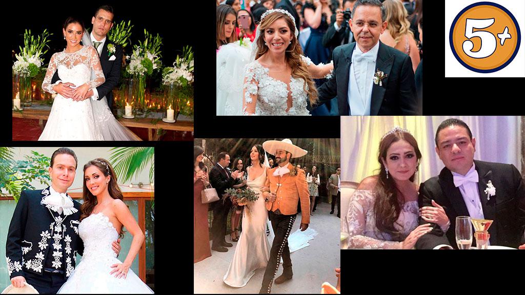 5 bodas más memorables en 5 años