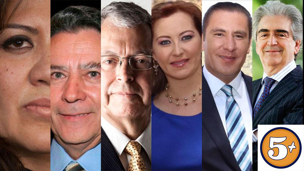 5 muertes de políticos en 5 años