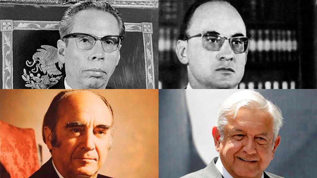 Los familiares artistas de los presidentes de México