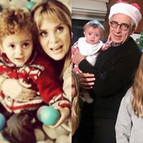 El parecido entre el hijo de Erika Buenfil y su primo Franco Zedillo