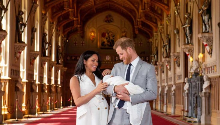 hijo del príncipe Harry y Meghan