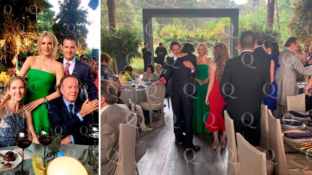 Los detalles políticos de la boda a la que asistieron Enrique Peña Nieto y Tania Ruiz