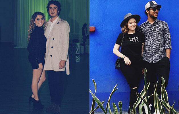 antes y después de Los Pinos