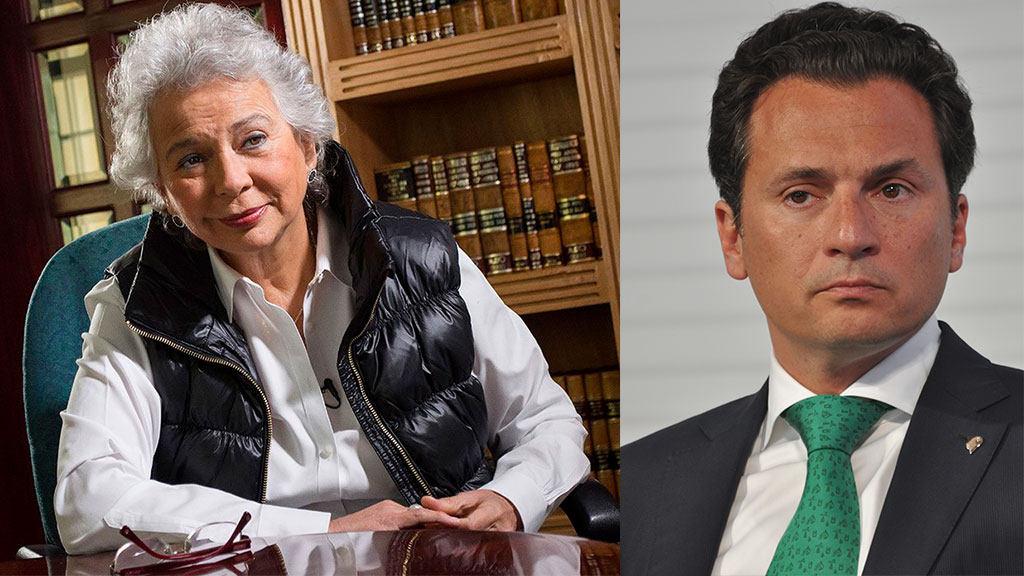 La relación entre Emilio Lozoya y Olga Sánchez Cordero