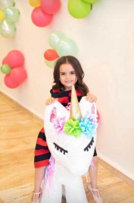 cumpleaños de la hija de Tania Ruiz