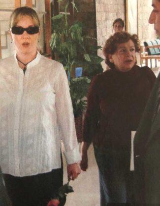 Edith González y Santiago Creel