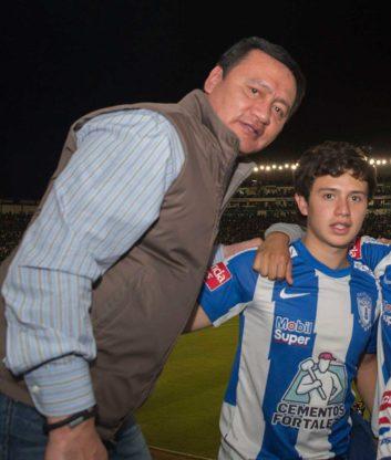 festejo Miguel Angel Osorio Chong