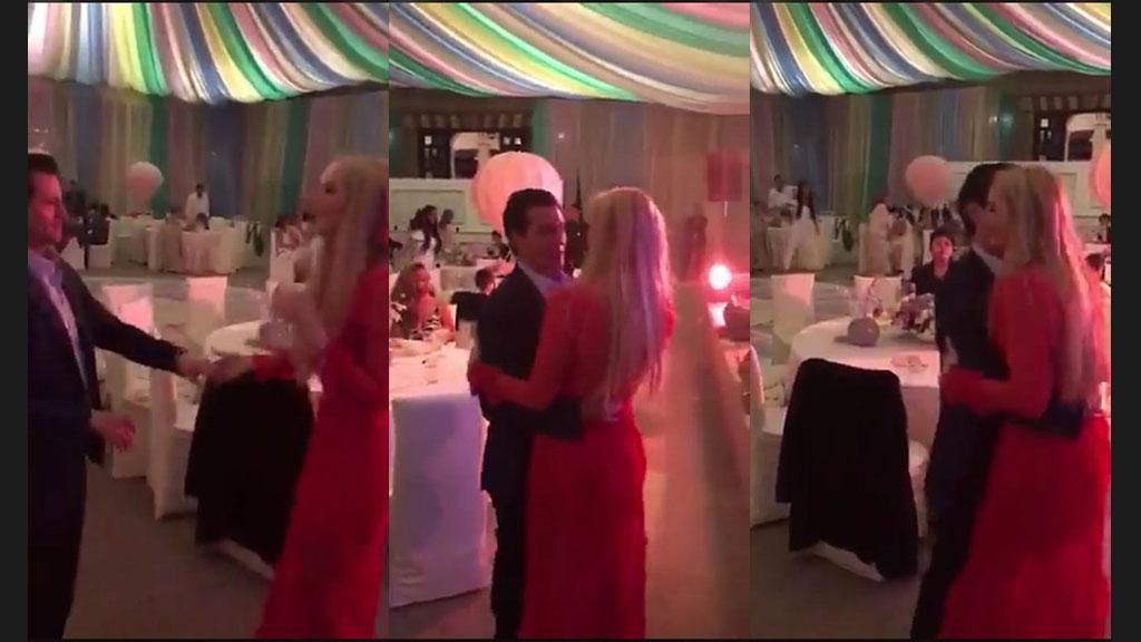 Primer beso de Peña Nieto y Tania Ruiz en VIDEO bailando 17 años