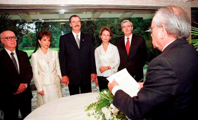 Vicente Fox celebra 77