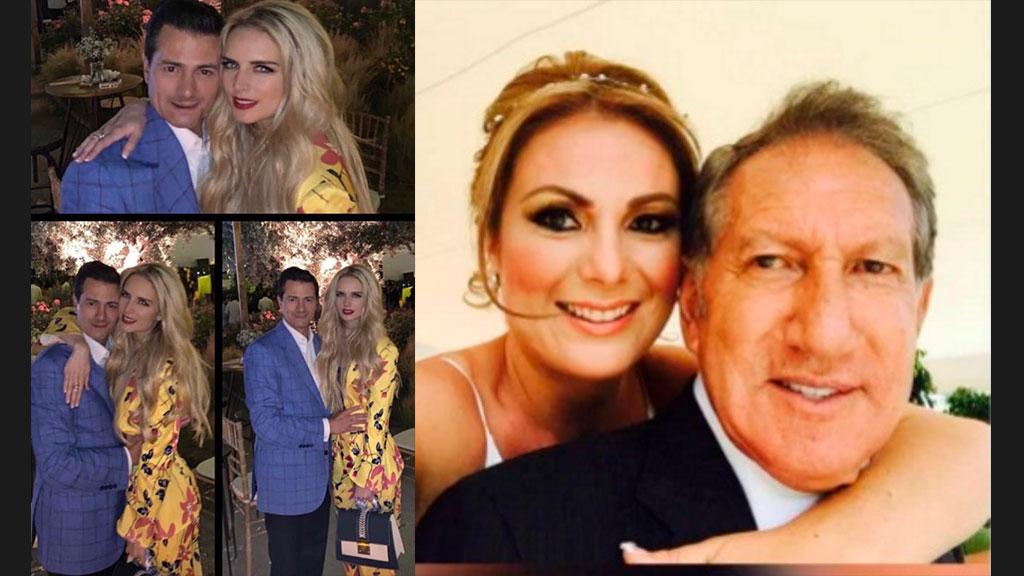 La FOTO de Peña Nieto y Tania junto a Arturo Montiel y su esposa Karla