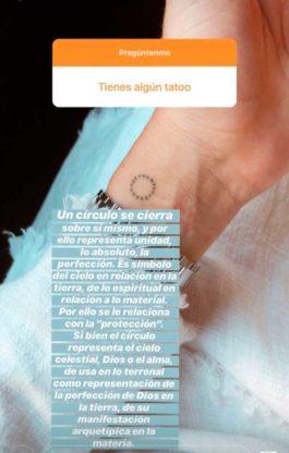 Paulina Pena explico el significado