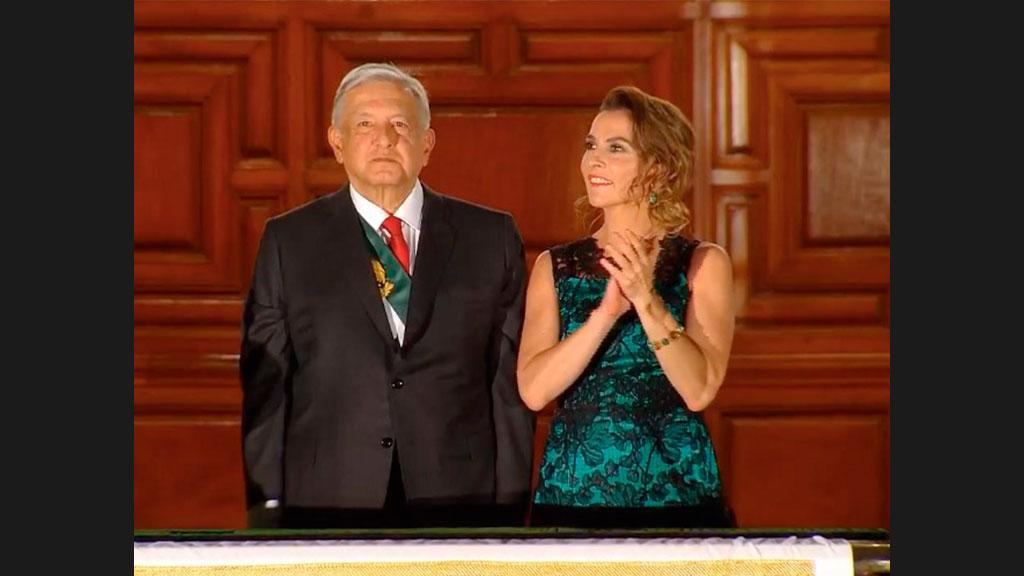El significado del vestido que utilizó Beatriz Gutiérrez en la Ceremonia de El Grito