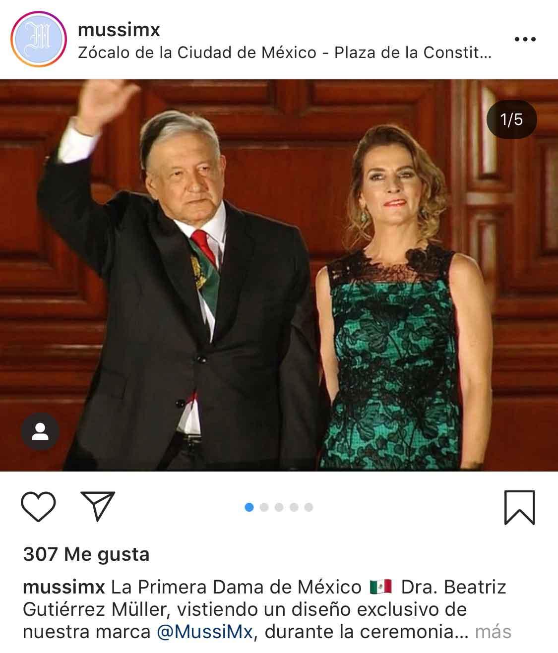 La Marca Del Vestido Y Traje Que Usó Beatriz Gutiérrez En