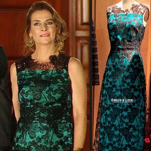 La marca del vestido y traje que usó Beatriz Gutiérrez en las fiestas patrias