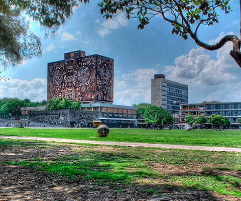 Haz una visita guiada en Ciudad Universitaria