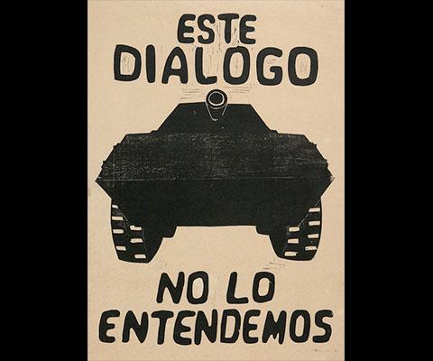 Conoce la propaganda del movimiento estudiantil de 1968