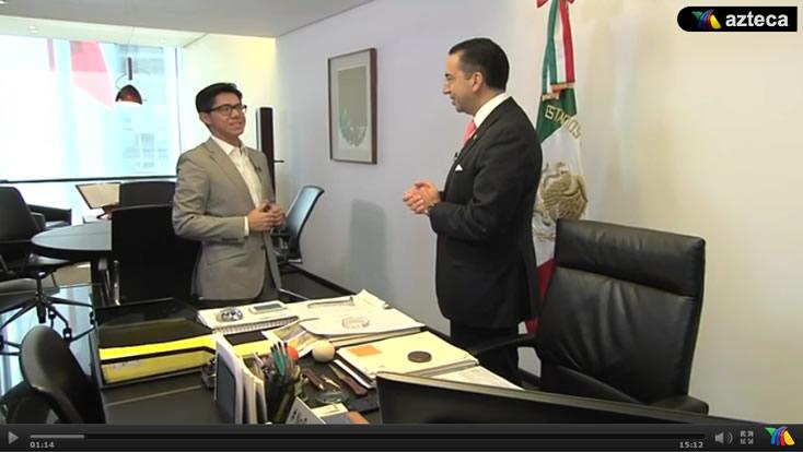 Ya hubiera querido Felipe Calderón una oposición como la que tiene Peña Nieto: Javier Lozano