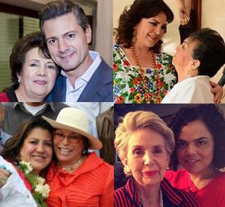 Los políticos con madre