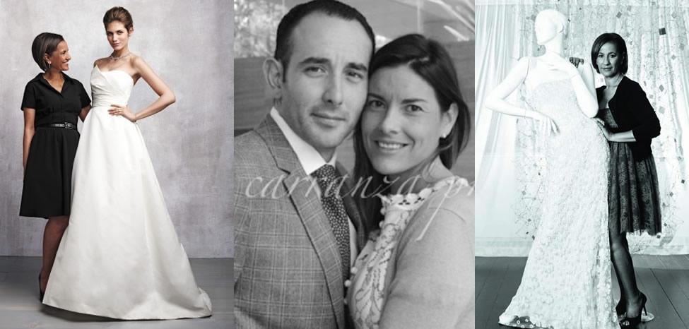 Quién diseñó el vestido de la novia [Boda Roberto & Elia Mary]